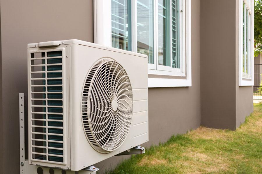 motore esterno impianto aria condizionata